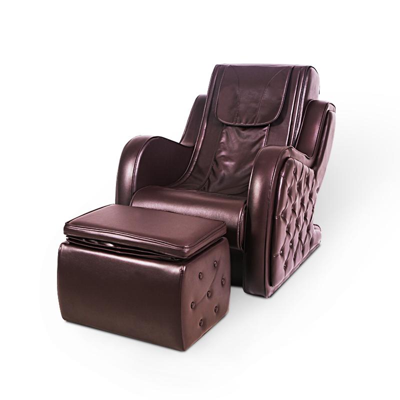 艾迈斯欧爽客电动家用按摩沙发摇摆按摩脚机全身按摩椅分体设计