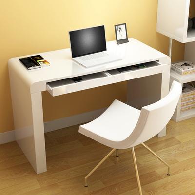 2平米 杰希 简约书桌烤漆电脑桌台式家用办公桌 现代写字台小桌子学习桌