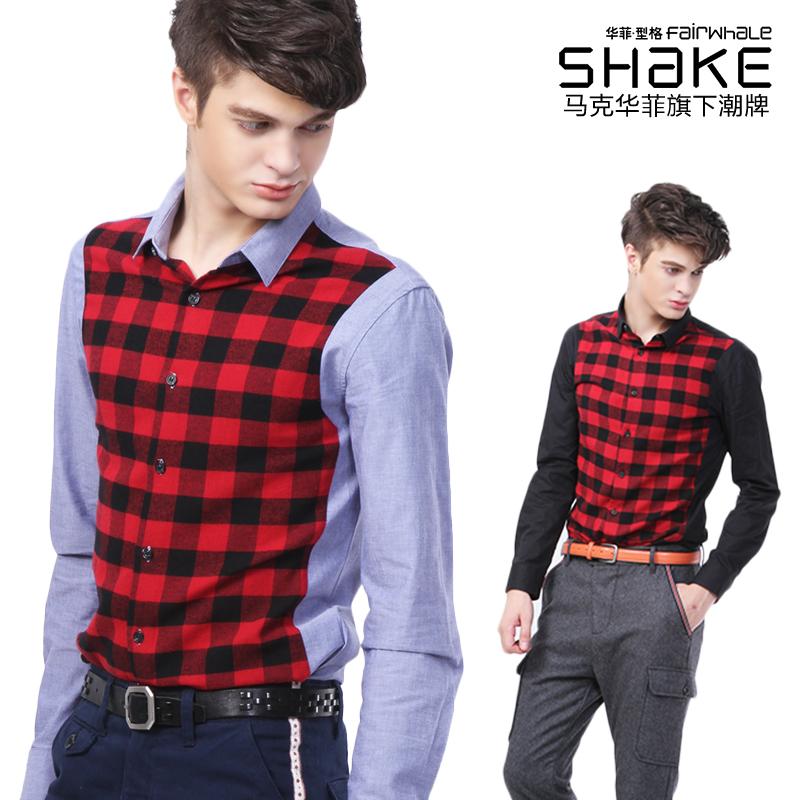 Рубашка мужская Fairwhale shake 3113030113045 2013