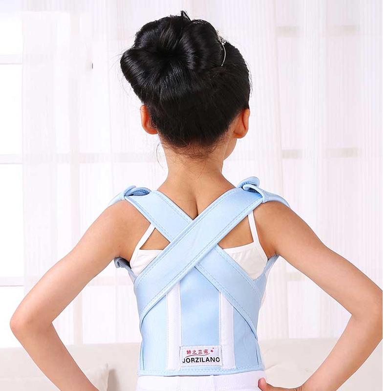 加强型儿童驼背矫正带 背部矫姿带 学生儿童小孩防驼背身姿矫正器