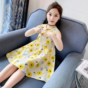 女童公主裙夏装2020新款洋气女孩童装纱裙夏季裙子春夏儿童连衣裙