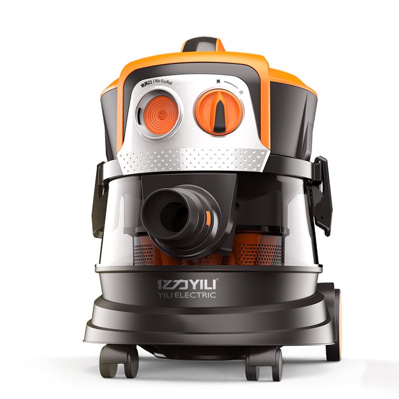 亿力吸尘器家用超静音大功率桶式大吸力除螨仪强力地毯式吸成尘机