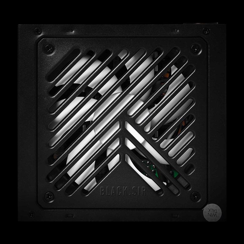 首席玩家黑泽氏额定450W主动式静音台式机箱电脑电源 峰值550W