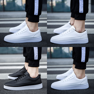 Men's 2017 new autumn and winter white shoe shoes casual shoes trend of Korean men's shoes all-match male students