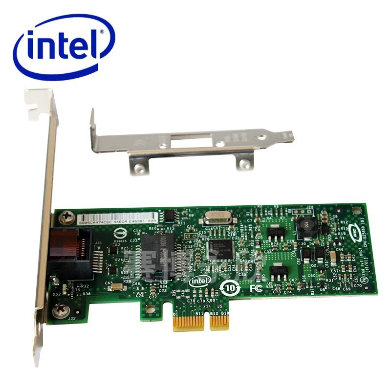英特尔intelEXPI9301CTBLK千兆网卡PCIE82574L有线台式网卡9301ct