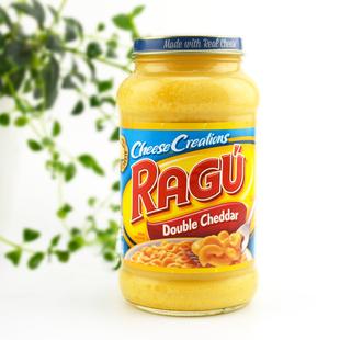 美国进口乐鲜芝士酱Ragu乐鲜双重车达奶酪酱453g即食沙拉意面酱