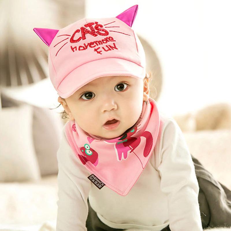 熊朵婴儿鸭舌帽春款6-12月宝宝帽子纯棉男女童韩国棒球遮阳帽包邮产品展示图1