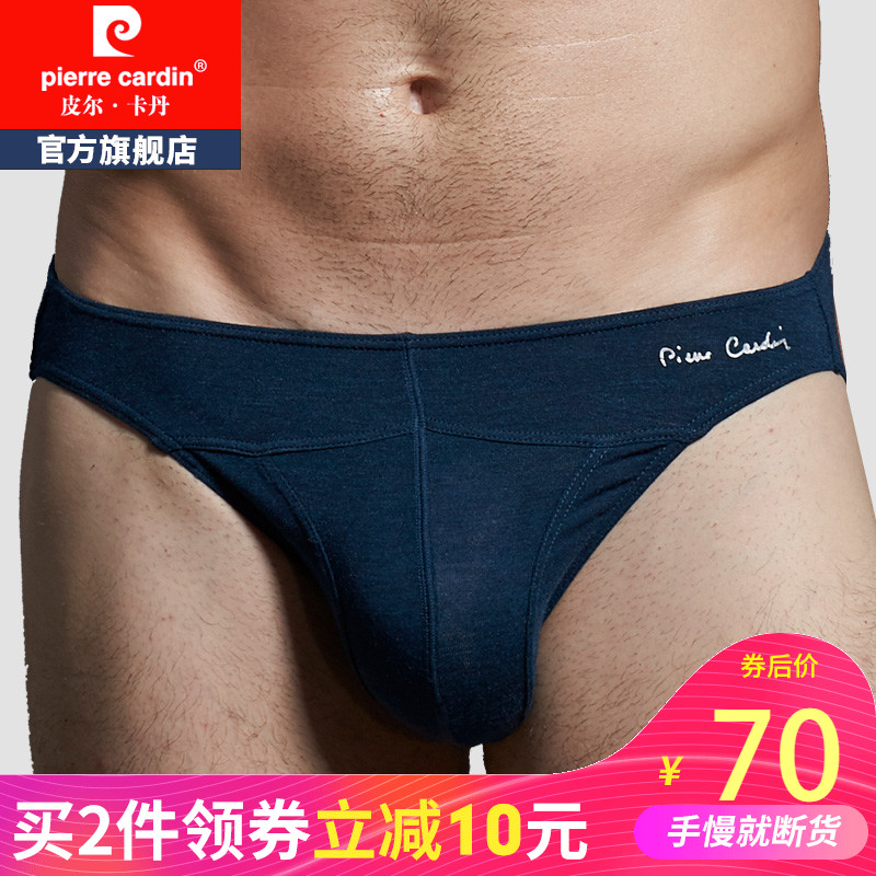 97058e7032b Pierre Cardin men modal underwear fat big love Low Waist sexy male summer  briefs