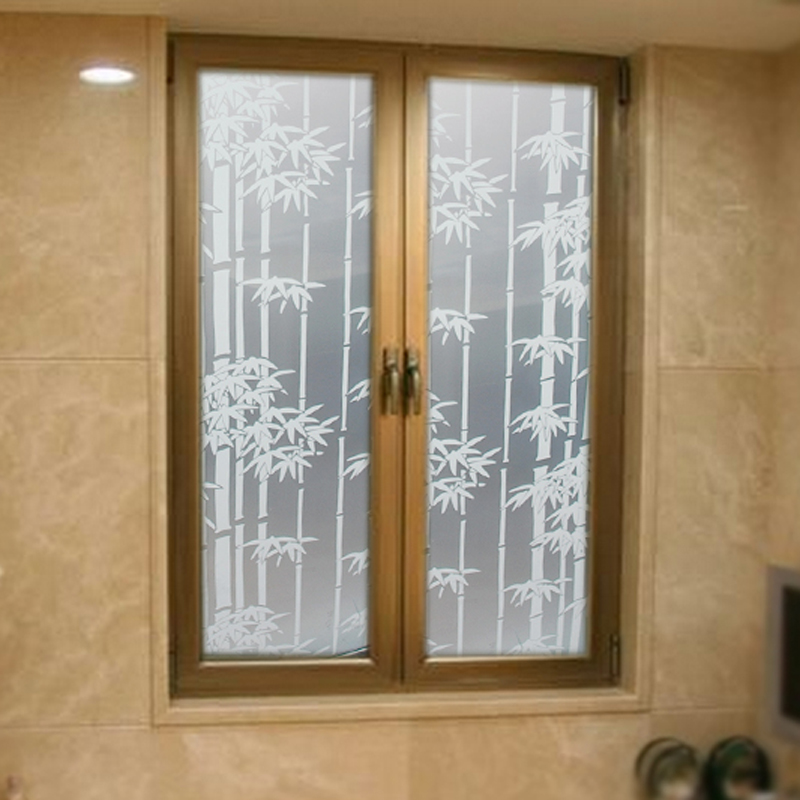 Self adhesive frosted glass foil bathroom bathroom window for Opaque glass for bathroom windows