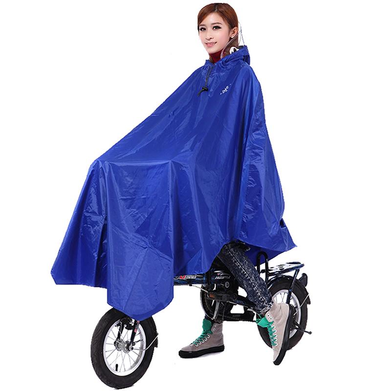华海雨披电动自行车雨衣单人男女骑行大帽檐学生自行车单车雨衣