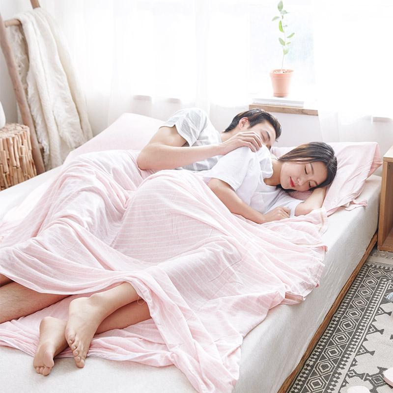 天竺棉良品纯棉旅行睡袋日式针织棉酒店宾馆便携式隔脏床单人双人