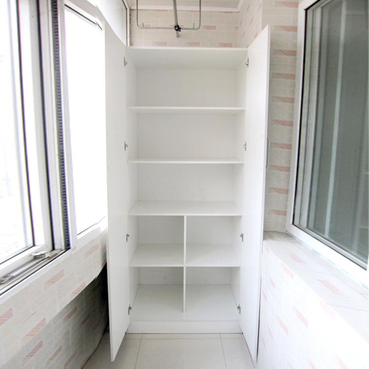 Установка дверей к встроенным шкафам на лоджии. - ремонт око.