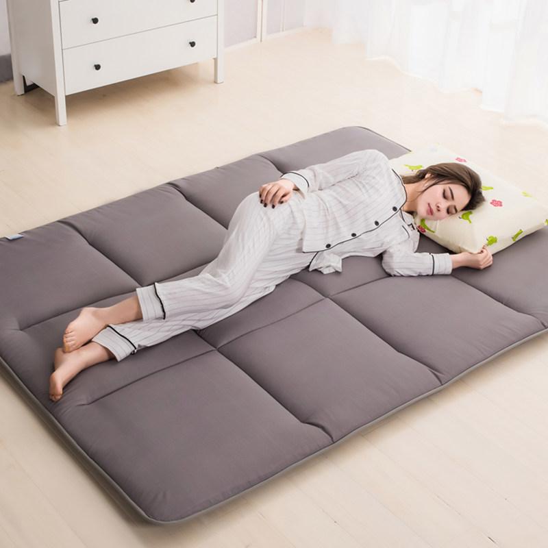 榻榻米床垫床褥单人双人1.5m1.8米垫被褥子宿舍1.2地铺睡垫一五二