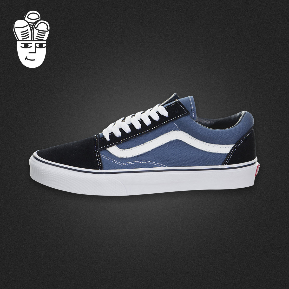 范斯 Vans Old Skool 万斯男鞋 经典滑板鞋 运动休闲鞋 帆布鞋