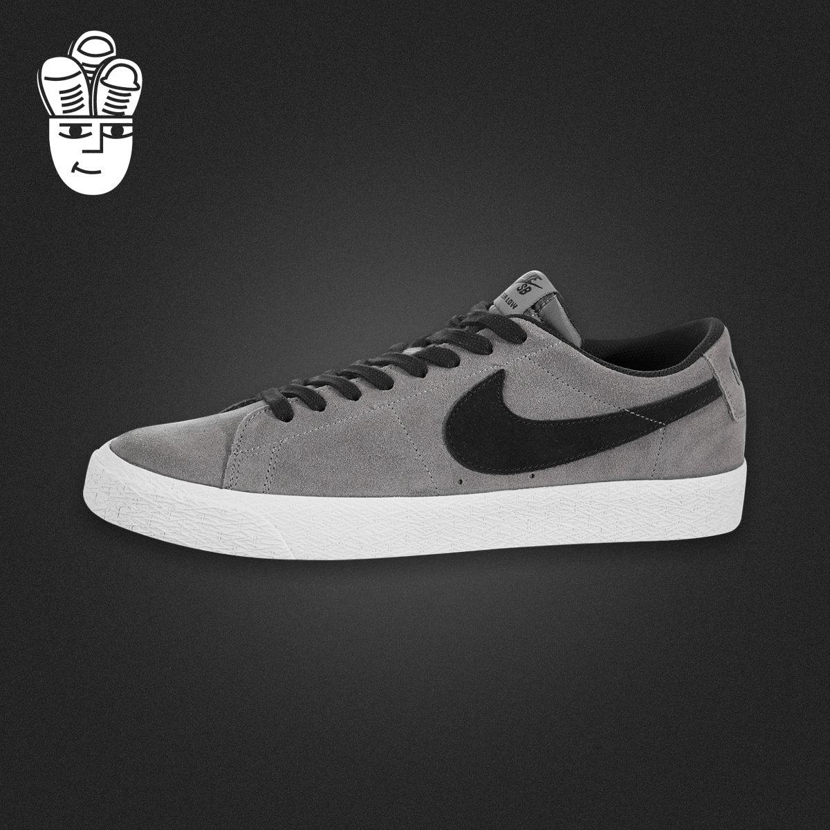 Nike SB Blazer Zoom Low 耐克男鞋 时尚低帮滑板鞋 运动休闲鞋