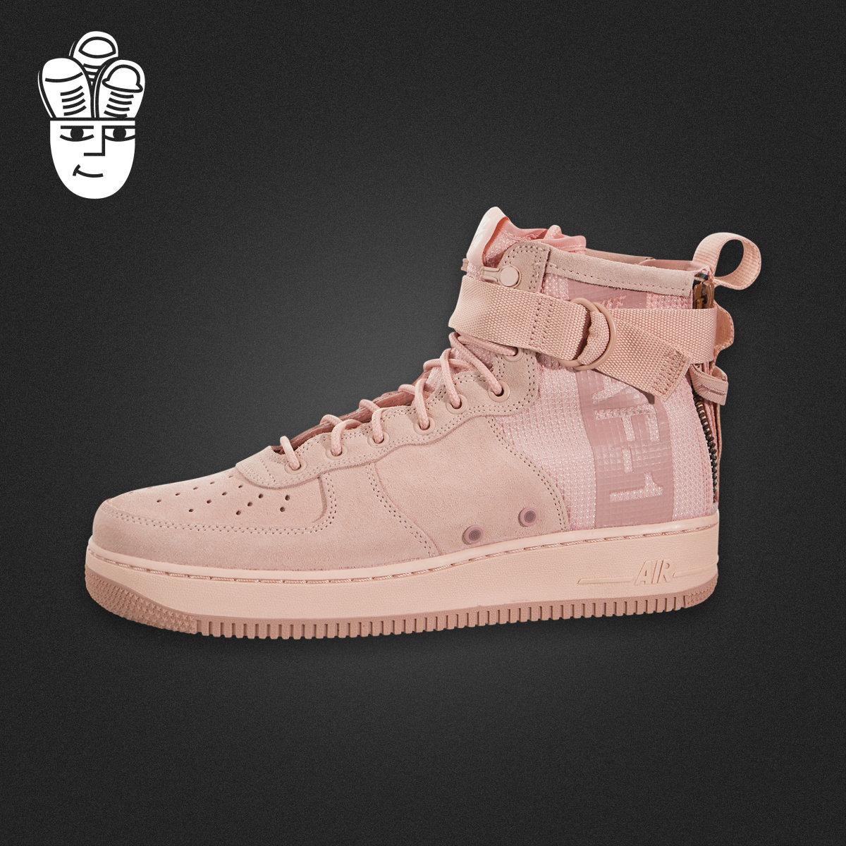 Nike SF Air Force 1 Mid 耐克空军一号篮球鞋 中帮运动休闲鞋