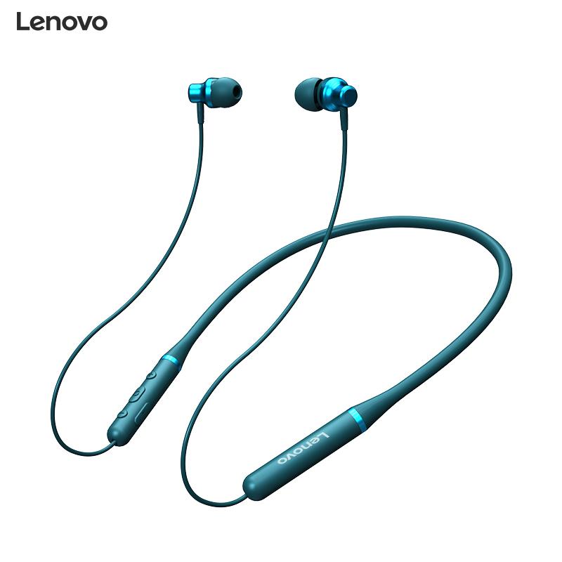 联想挂脖蓝牙耳机颈挂式无线2021年新款运动型降噪超长待机续航男女士高端原装正品适用苹果华为vivo小米oppo