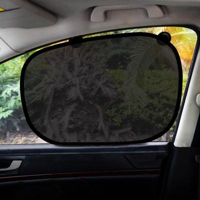 汽车遮阳帘车窗板防晒隔热挡窗帘前挡双层自动伸缩神器玻璃遮光