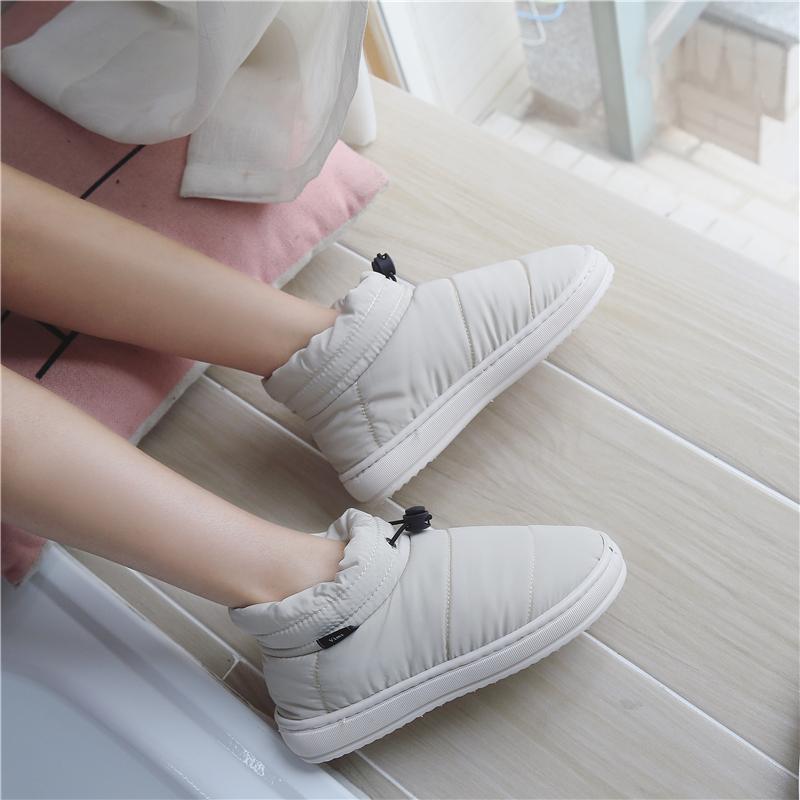 包跟棉鞋厚底防水保暖居家室内产后月子冬季拖鞋女防滑男士棉拖鞋
