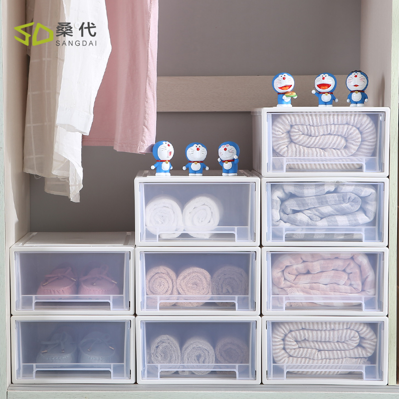 plastic containers clothing drawers clothes clear storage designs large for