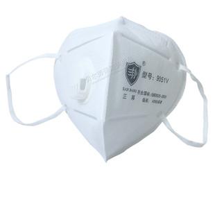 三邦9051v防粉尘一次性口罩25只pm2.5雾霾男女N95工业透气呼吸阀