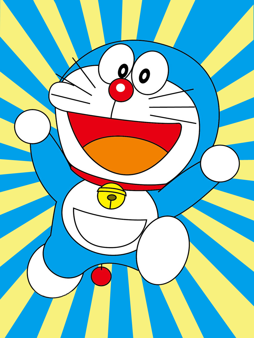 5d儿童钻石画 哆啦a梦机器猫卡通十字绣新款魔方钻石绣砖石画贴钻图片