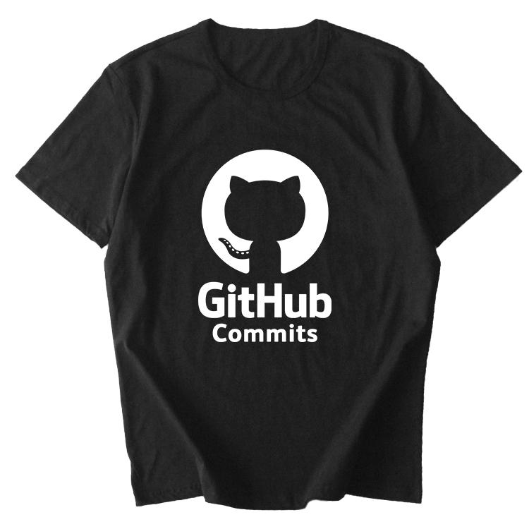 极客github linux merb ruby 程序员猿geek章鱼猫 t恤