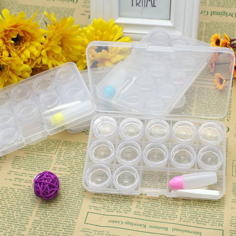 十二宫格美瞳盒12宫格隐形眼镜盒多个装美瞳收纳盒多副装大号盒子