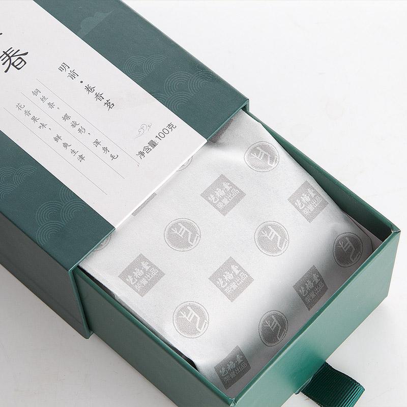 第2件半价 艺福堂茶叶 卷香茗礼盒装明前特级碧螺春100g绿茶