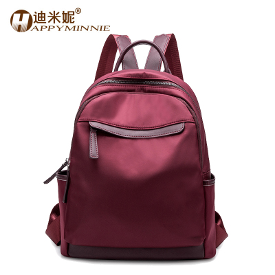 Backpack women 2018 new Korean version of the wild leisure bag student campus bag female Oxford cloth backpack
