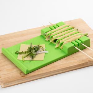 烧烤工具家用穿串机卷菜器  卷菜穿串神器干豆腐卷全自动穿串机