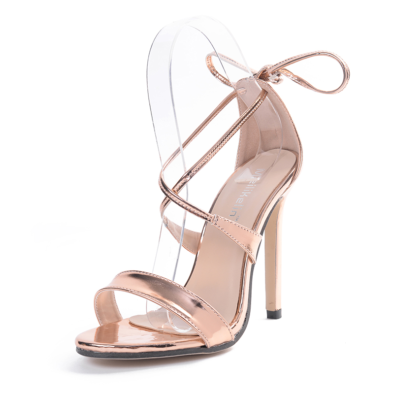 Gloden high-heeled sandal's main photo