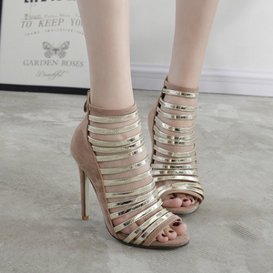 Awards ceremony fashion show star high-heeled sandals