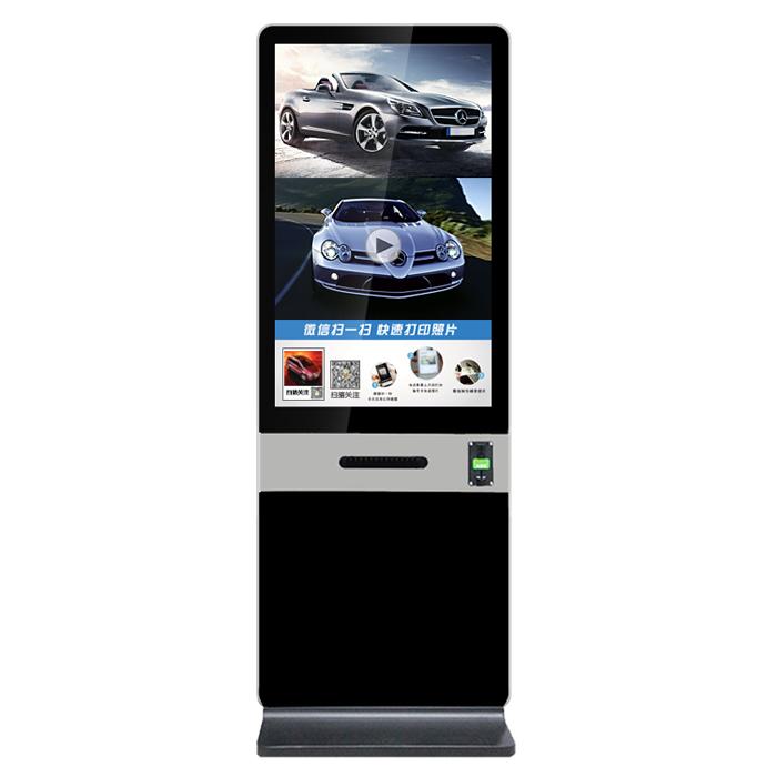 微信打印机系统 42寸竖式微信打印机 广告机 企业 商用微信打印