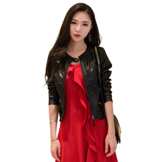 Leather jacket Han Yulin space tw10756