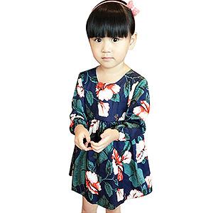 连衣裙秋装纯棉儿童裙