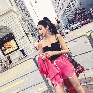 实拍+小视频 韩版气质时尚百搭夏季新款三件套 套装