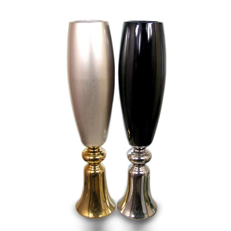 知根现代简约陶瓷落地花瓶