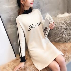 1639实拍2018韩版秋季新款毛衣长