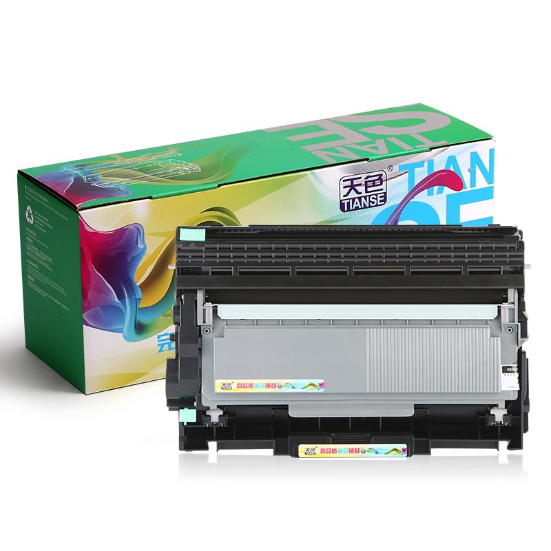 天色适用兄弟HL2260D激光打印机硒鼓2560DN粉盒TN2312易加粉MFC7380 7480D 7880DN复印一体机鼓架碳粉盒晒鼓
