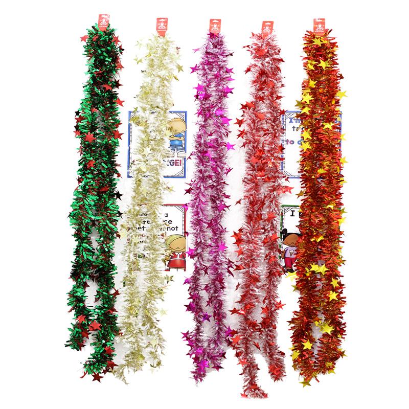 结婚彩带彩条拉花毛条商场酒吧ktv圣诞节新年年会布置幼儿园装饰