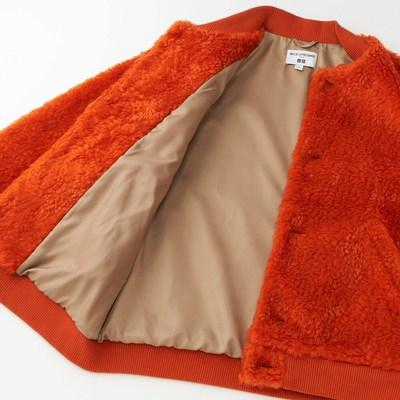 23区 女装 IDLF仿羊羔绒茄克(长袖) 404414 优衣库UNIQLO