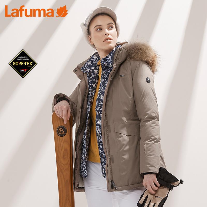 LAFUMA乐飞叶女士户外GTX防水保暖自发热鹅绒羽绒服LFJU7D402