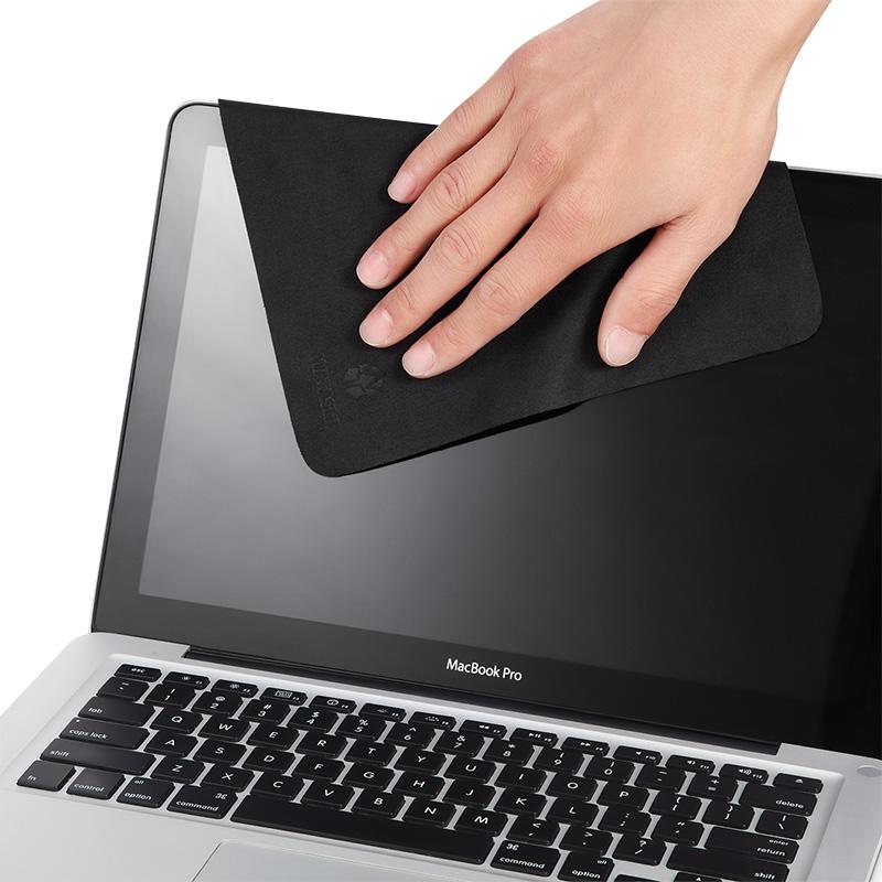 德甲士笔记本屏幕清洁纤维电脑显示器手机清洁布单反镜头布擦屏布vivo苹果oppo清洁布擦屏幕可水洗眼镜布套装