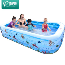Inflatable pool More care