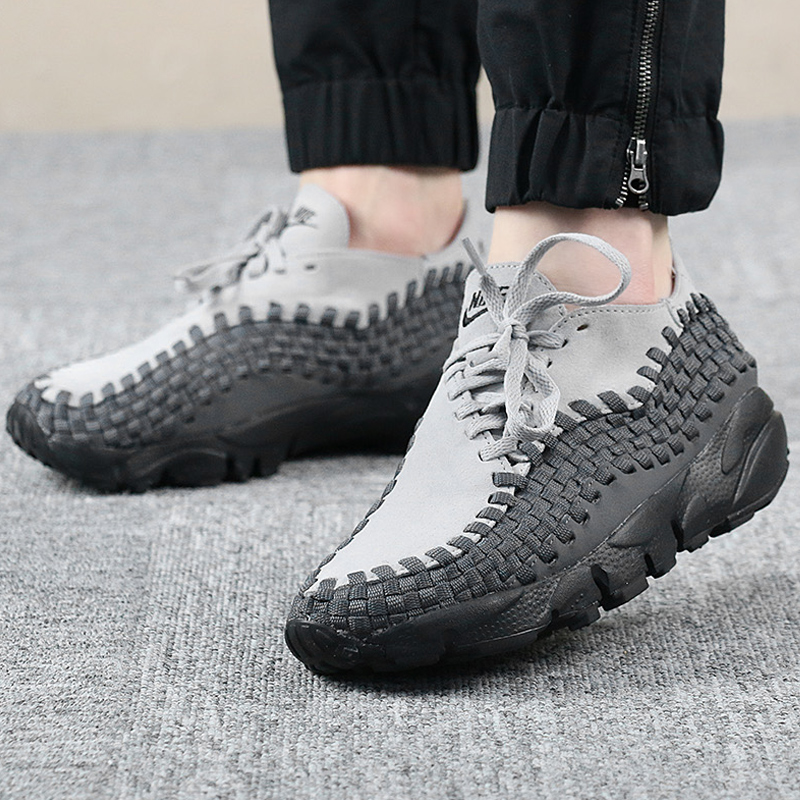 buy popular d95c9 963e2 Nike NIKE Air Footscape Woven Womens Lightweight Knit Casual Shoes 917698 -004