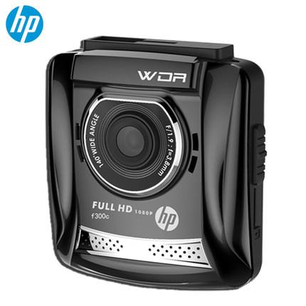 点评:惠普 F300c行车记录仪1080p高清夜视迷你防碰瓷汽车停车监控感受