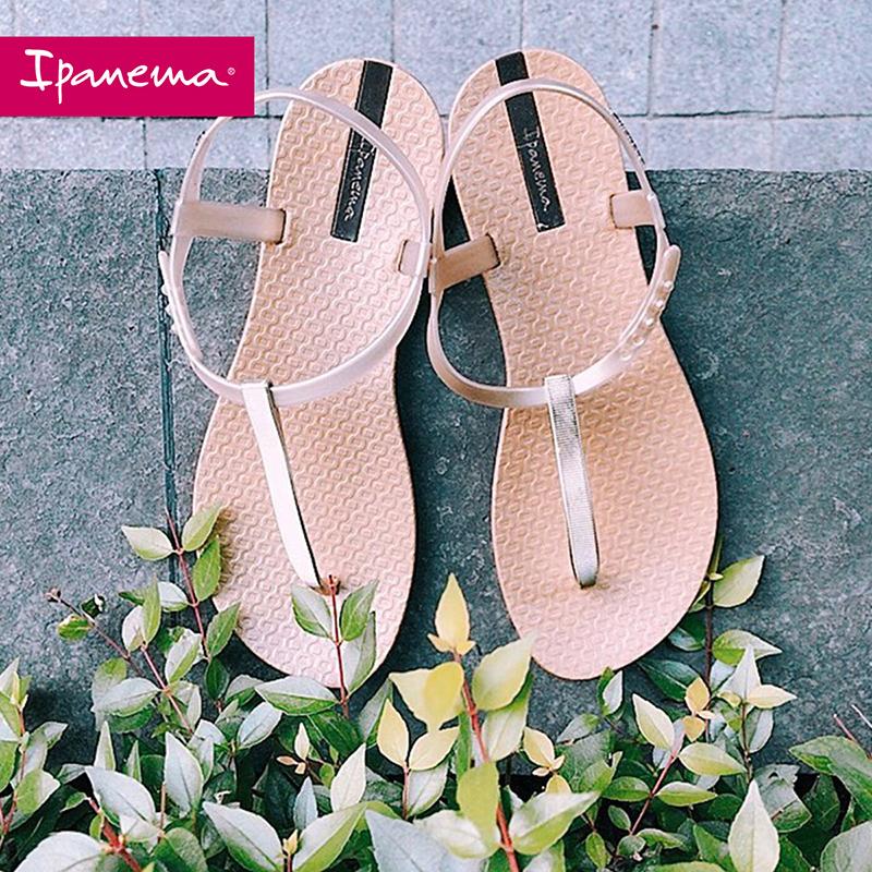 巴西进口 ipanema 依帕内玛 女式平底凉鞋 聚划算双重优惠折后¥105.1包邮 3色可选