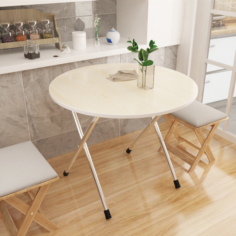 Small apartment folding table simple eating table home table simple outdoor portable stall table folding table