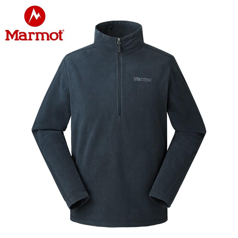 10点开始,Marmot 土拨鼠 H83595 男士户外运动抓绒夹克